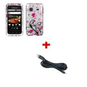 PINK FLOWER Design Cover Case For SAMSUNG PREVAIL + Micro