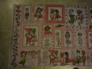 OOP   RARE   LORALIE ON THE MEND ORIGINAL BREAST CANCER COTTON FABRIC
