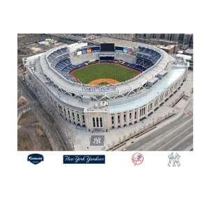 Yankees Yankee Stadium Aerial Mural Wall Graphic