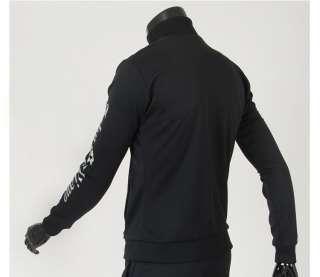 Mens Sportswear Zip Up Jackets Jogging Running Training Tracksuit Top