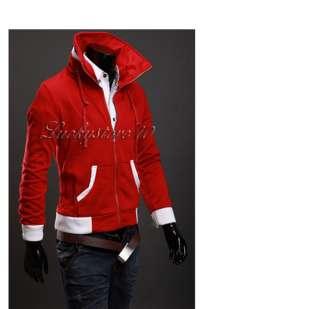 NWT Mens Premium Colors Pached Hoody Jacket M L XL XXL