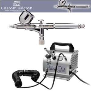 Iwata Custom Micron CM C Airbrushing System with Smart Jet