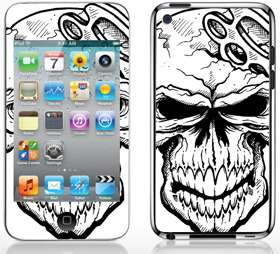 Apple iPod Touch 4 Skin Sticker Cover Case Guitar