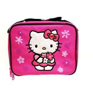 Hello Kitty Insulated Lunch Bag Box Water Bottle