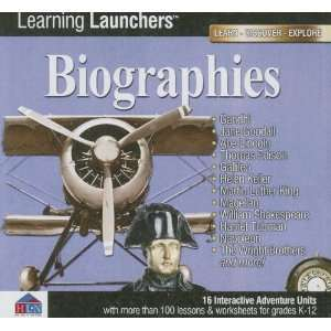 Biographies: Interactive Adventure Units on CD ROM