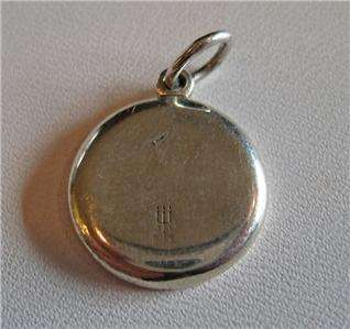 Retired James Avery Sterling Silver Moon Charm