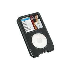 Apple iPod Classic (160GB) Leather Sleeve Type Case (Black
