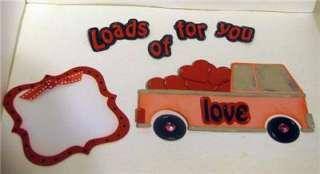 Loads of Love 8 piece paper piecing set UAMD paper piecing