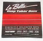 LA BELLA FLATWOUND HOFNER BEATLE BASS STRINGS   760FHBB