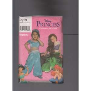 Disney Princess Halloween Costume for Child Sewing Pattern