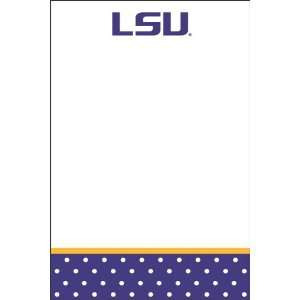 Palm Tree Paperie LSU Tigers Polka Dot Magnetic 2 count
