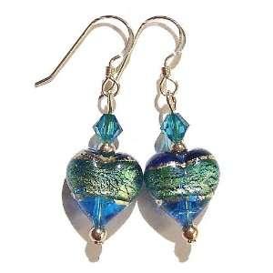 The Black Cat Jewellery Store Genuine Murano Glass Heart