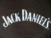 JACK DANIELS LOGO T SHIRT TOP JUNIOR MEDIUM