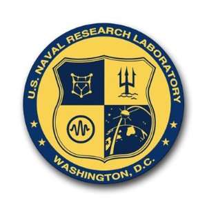 US Navy Research Laboratory Logo Decal Sticker 3.8 6 Pack