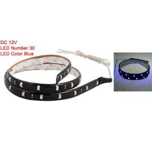 Amico Car Flexible Blue 30 SMD Decorative LED Light Strip