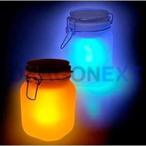 Colors Changing Sun Jar Led Light Sensor Camp Lamp Electronics