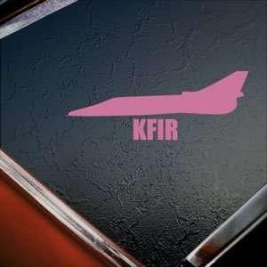 KFIR Pink Decal Military Soldier Car Truck Window Pink