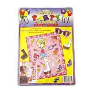 Baseball Birthday Party Match Game Toys & Games
