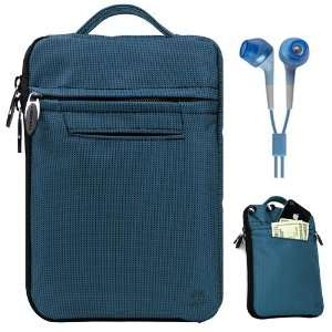 Honeycomb Tablet PC + Blue Stereo Earphones with 3.5mm Headphone Jack