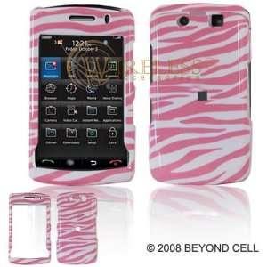 BlackBerry Storm2 9550 PDA Cell Phone Pink/White Zebra