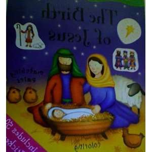 The Birth of Jesus (Bible Sticker Books) (9781405415590