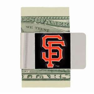 San Francisco Giants Enameled Pewter Money Clip/Card Holder   MLB