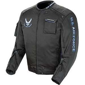 JOE ROCKET AIR FORCE ALPHA JACKET BLACK 2XL Automotive