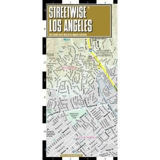Streetwise Los Angeles Map   Laminated City Center …