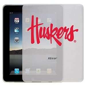 University of Nebraska Huskers on iPad 1st Generation