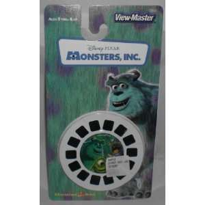Disney Pixar Monsters, Inc. View Master 3 Reel Set   21 3d