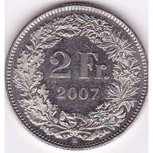 2007 B Switzerland 2 Franc Coin Everything Else