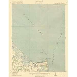 USGS TOPO MAP CAPE HENLOPEN QUAD DELAWARE/DE 1918