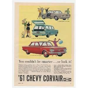 1961 Chevy Corvair Monza Club Coupe Lakewood 700 Wagon 500 4 Door