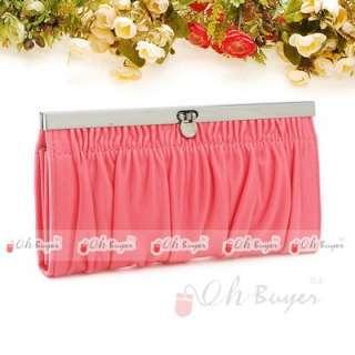 fashion design 10 color snap closur lady wallet women clutch purse