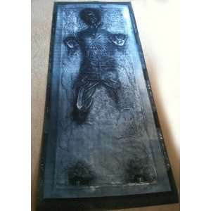 Lifesize Star Wars HAN SOLO in CARBONITE print/Life size
