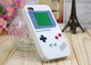 Iphone 4S 4 Nintendo Game Boy Silicone Case White Color USA Seller