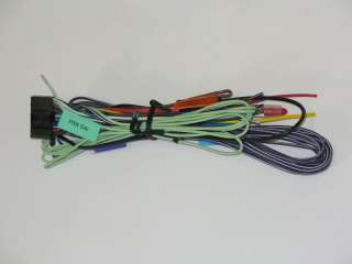 Kenwood KVT 512, KVT 514,KVT 612,KVT 614 Power Harness