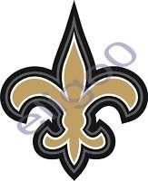 1x STICKER New Orleans saints Fleur De Lis decal vinyl