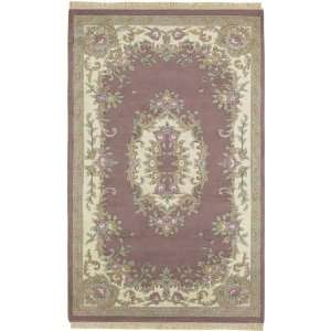 Surya Rugs Avalon Hand Knotted wool area Rug avalon rose