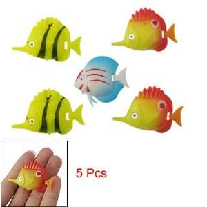 Pcs Assorted Color Plastic Movable Tropical Fish
