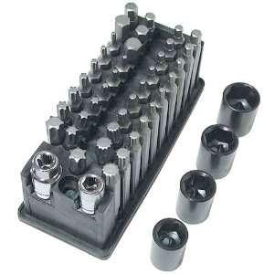 Boxer 44 Piece Professional Bits Set w/ 2 Adaptors