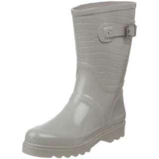 MICHAEL Michael Kors Womens MK Croco Mid Rainboot   designer shoes