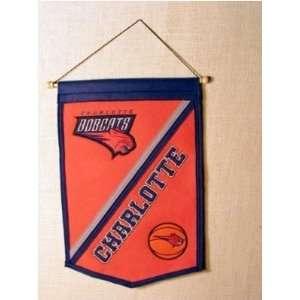 Charlotte Bobcats   NBA Basketball Traditions Banner