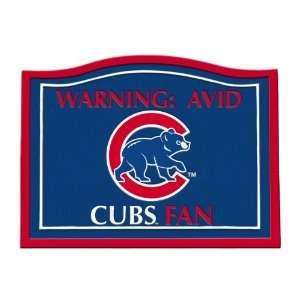 America MLB0145 703 Chicago Cubs MLB Fan Garden Sign