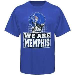 Tigers Shirts  Memphis Tigers Royal Blue We Are T Shirt Sports