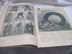 Vintage 1929 Southern California v Notre Dame Football Program Book