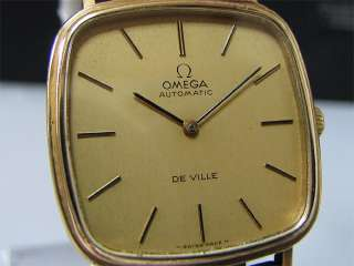 Vintage 1960 70s OMEGA Automatic watch [DeVille] Cal.711