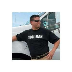Mans Toolman Black Tee Shirt Large (TEETLMAN L
