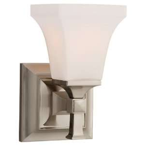 Sea Gull 44705 962 Melody 1 Light Brushed Nickel Sconce