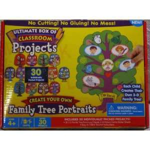 Classroom Projects Create Your Own Family Tree Portraits Toys & Games